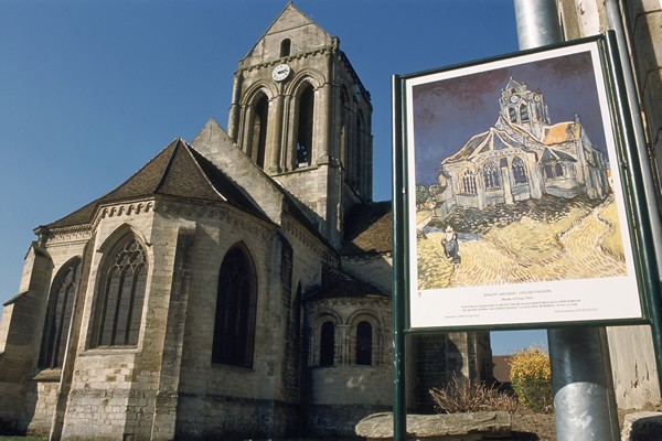 La iglesia de Auvers/Oise