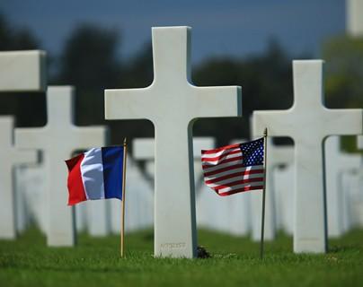 Cementerio de Omaha beach