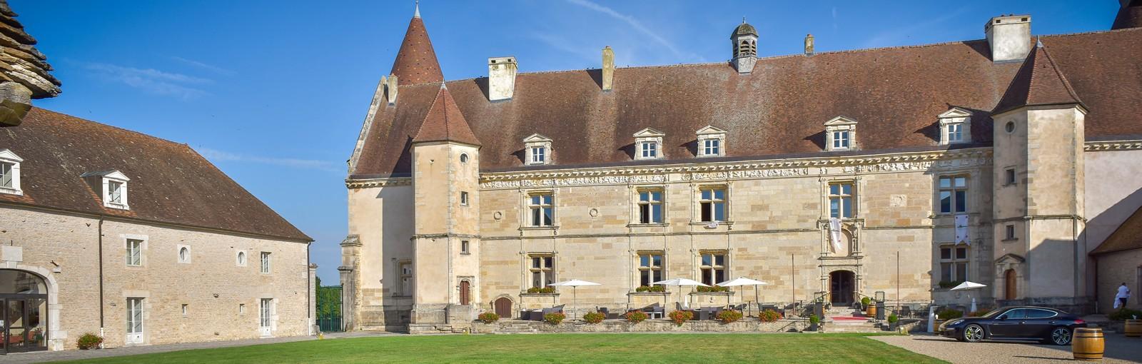 Bourgogne - Chateau - Hôtel