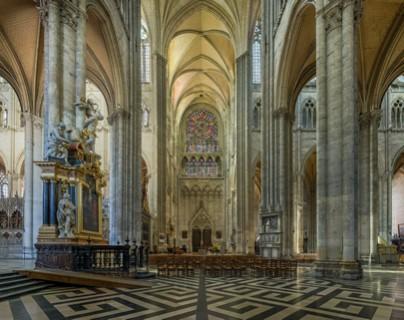 la cathedral de Amiens
