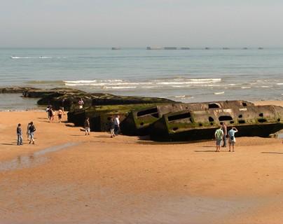 Playa del desembarco